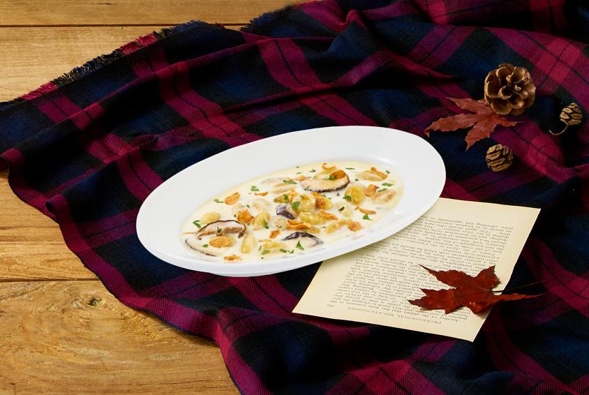 Garlic Gorgonzola Gnocchi