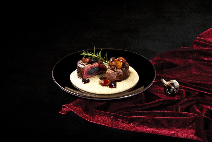 Truffle & Porcini Double Garlic Tenderloin Steak
