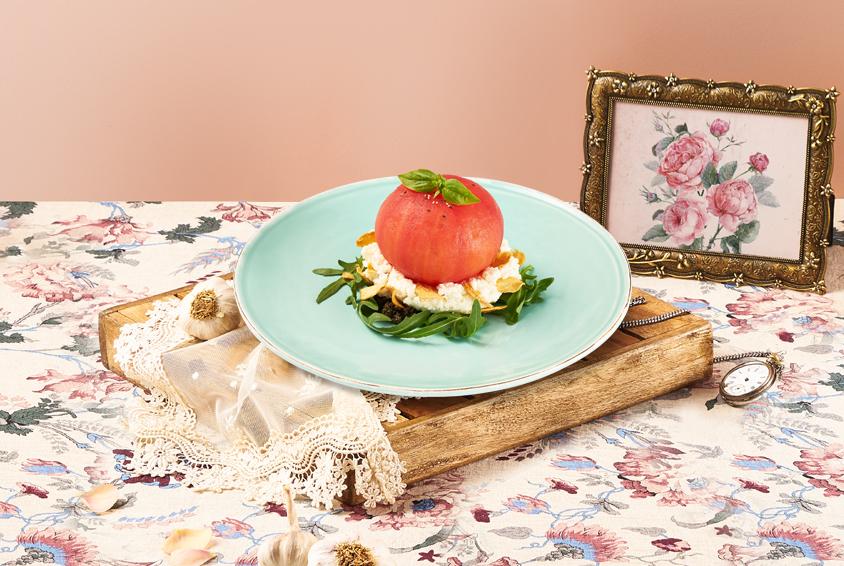 Garlic Cotta Whole Tomato (갈릭코타 홀 토마토)