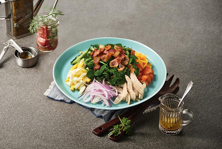 Mad for Garlic Cobb Salad