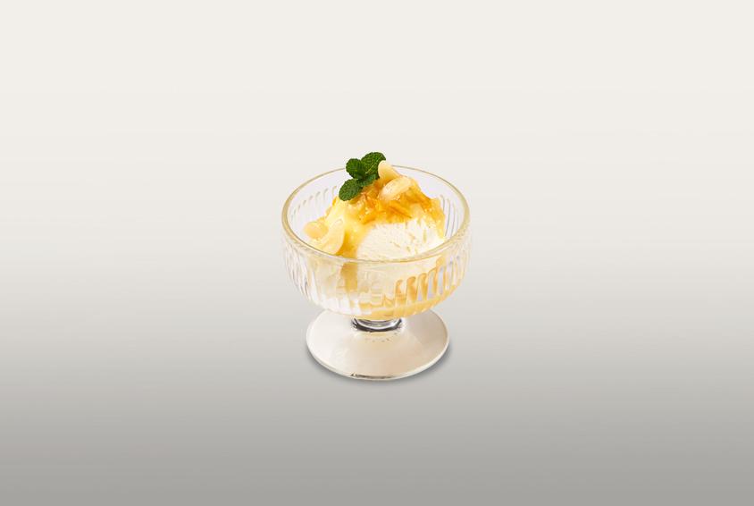 Garlic & Orange Ice Cream