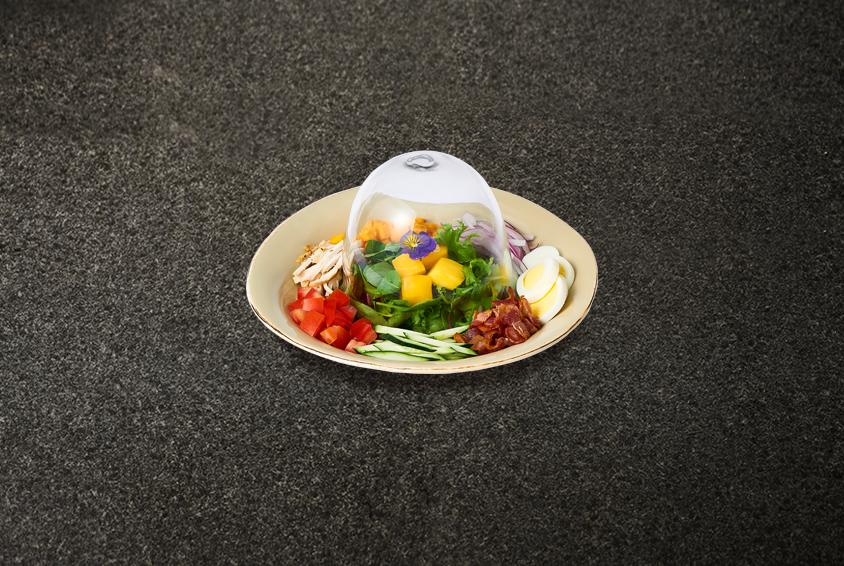 Mad for Garlic Dome Salad