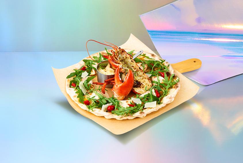 매드 리스 피자 위드 랍스터 (Mad Wreath Pizza with Lobster)