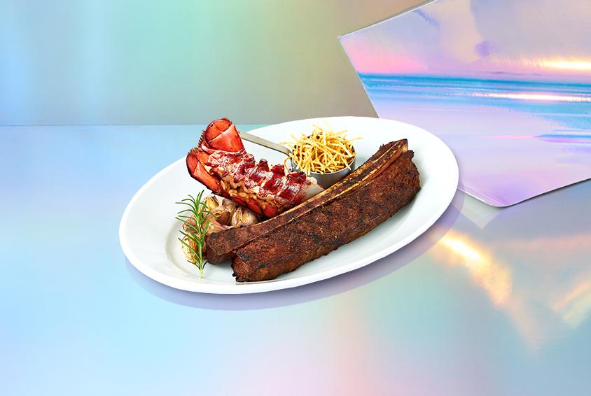 빅-본 립 스테이크 & 리소 랍스터 (Big-Bone Rib Steak_500g & Riso Lobster)
