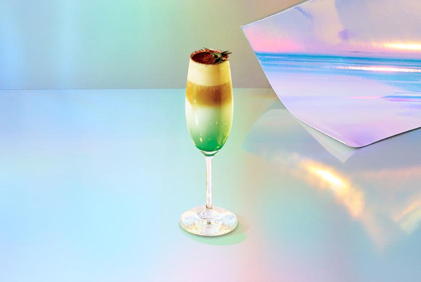 오로라 그린 민트 티라미수 (Aurora Green Mint Tiramisu)