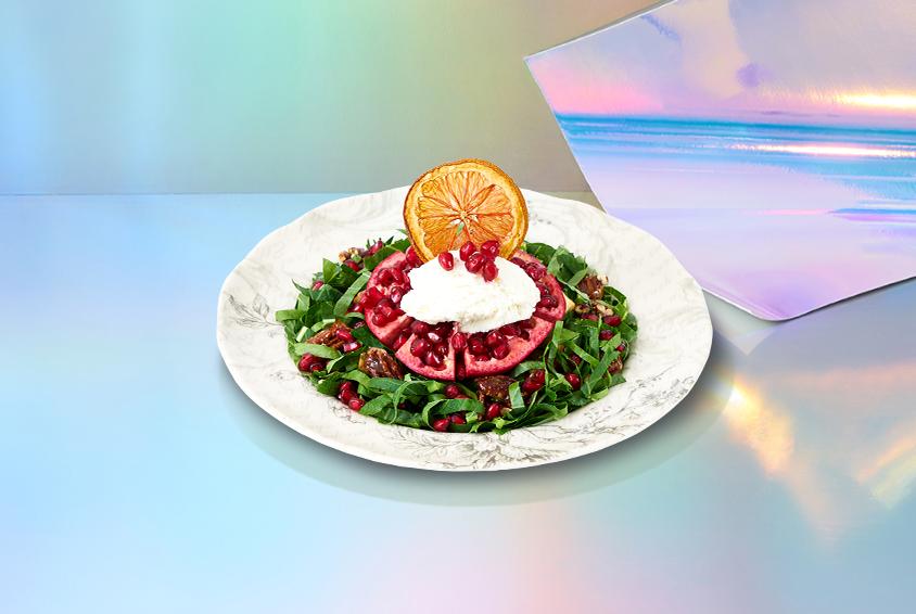 메리 루비 케일 샐러드 (Merry Ruby Kale Salad)