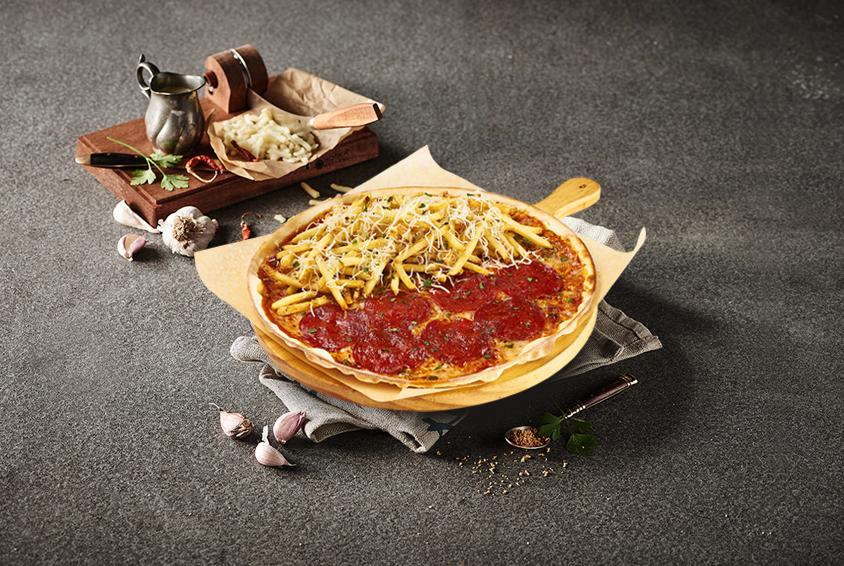 Chorizo & MAD Potato Pizza(초리조 & 매드 포테이토 피자)