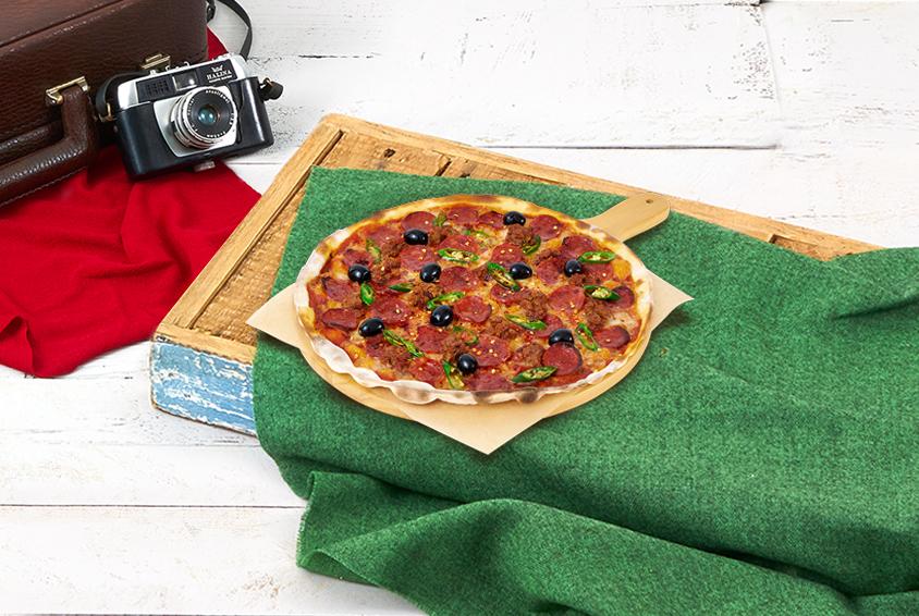 크레이지 디아볼라 피자(Crazy Diavola Pizza)