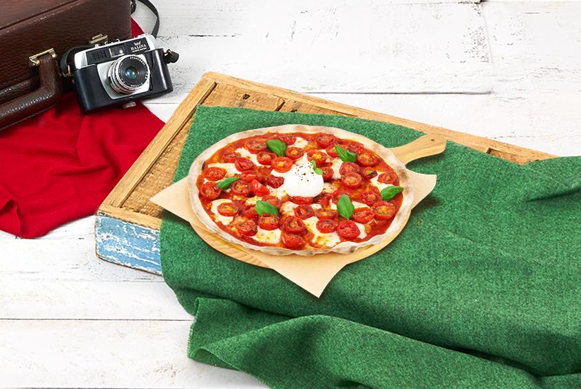 MAD Margherita & Burrata Pizza