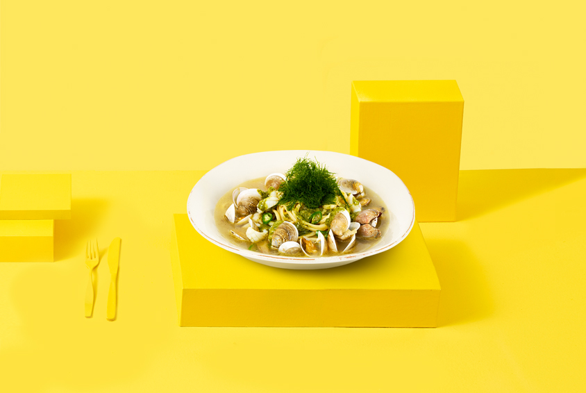 봉골레 & 감태 수프 파스타(Vongole & Gamtae Soup Pasta)