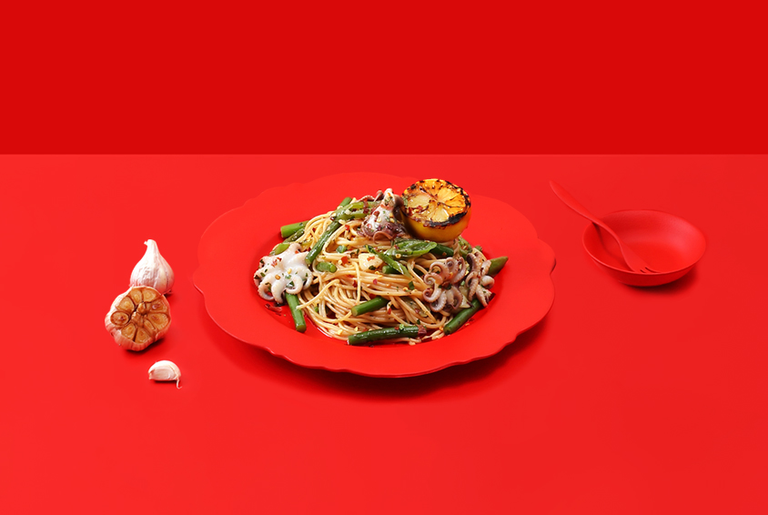 Spicy Anchovy Lemon Pasta