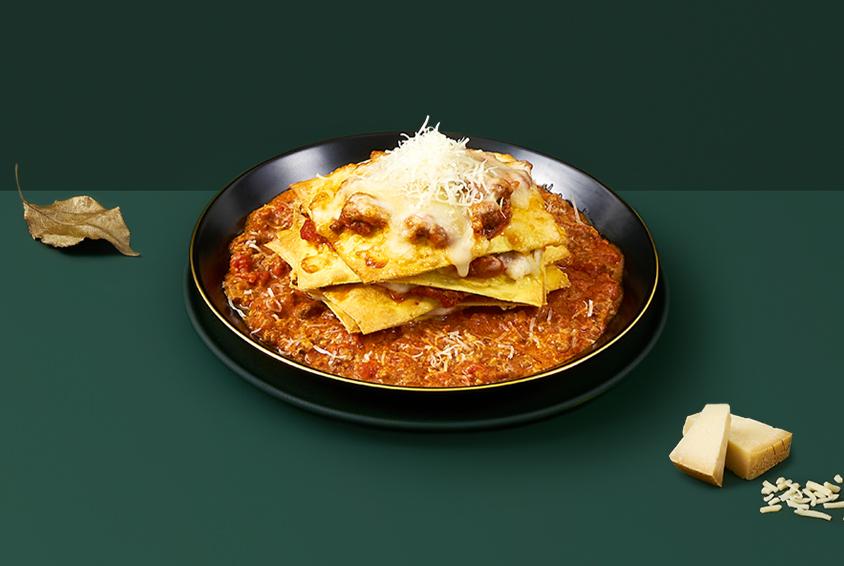 Autumn Sunset Bolognese Lasagna
