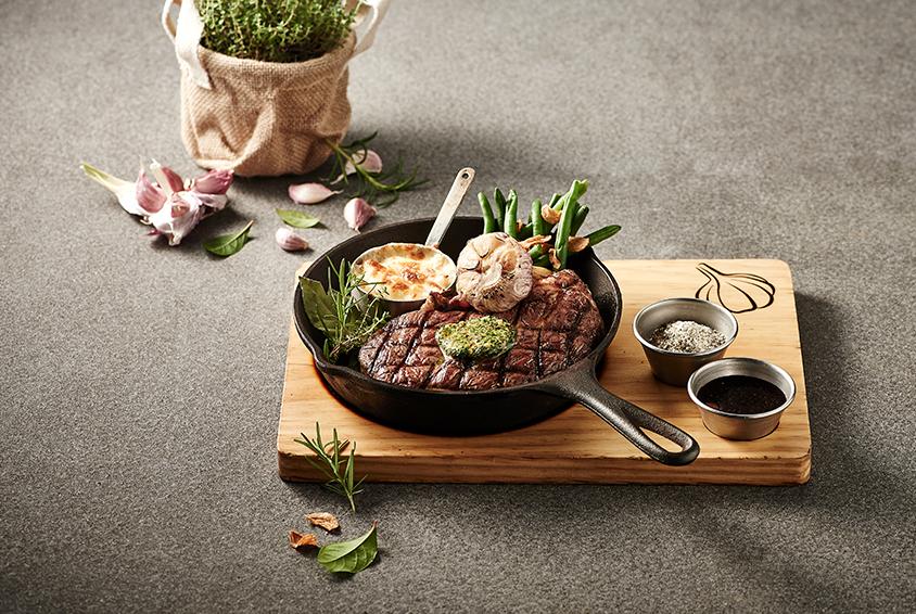 Herb Ribeye Steak