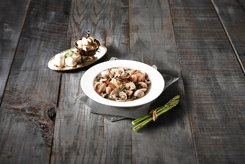 Fresh Ocean Soup Pasta