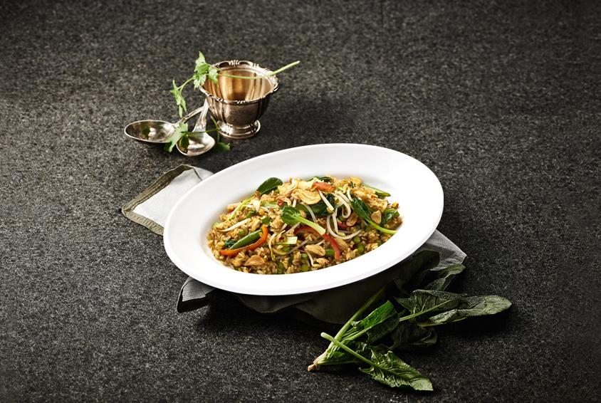 Chicken & Garlic Sprout Rice